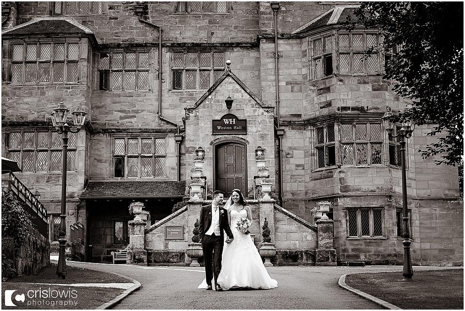weston hall wedding photos