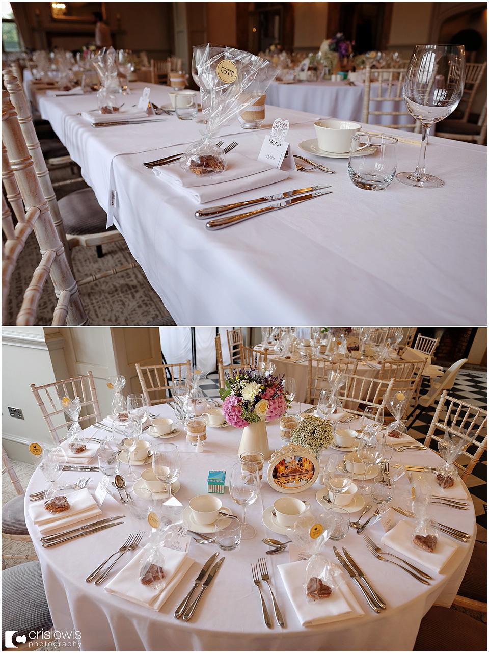 weston hall wedding details