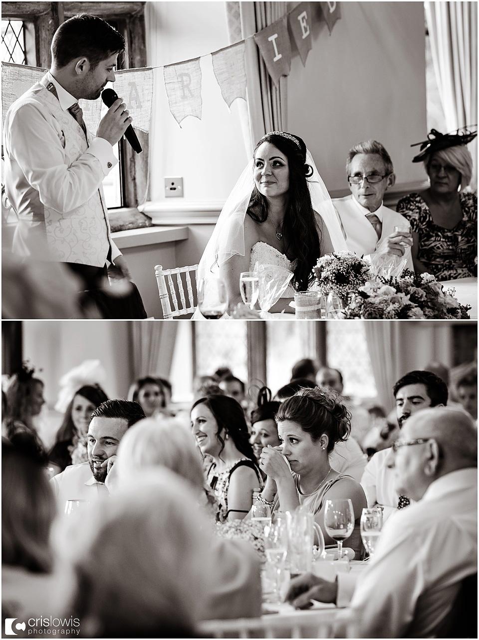 speeches at weston hall wedding