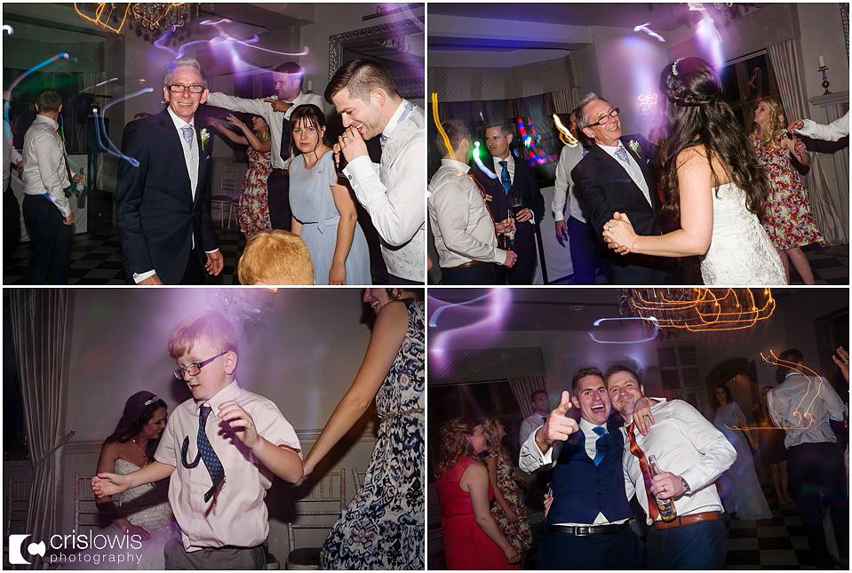 dancing at weston hall wedding