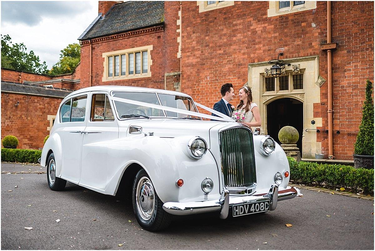 platinum wedding cars at pendrell hall