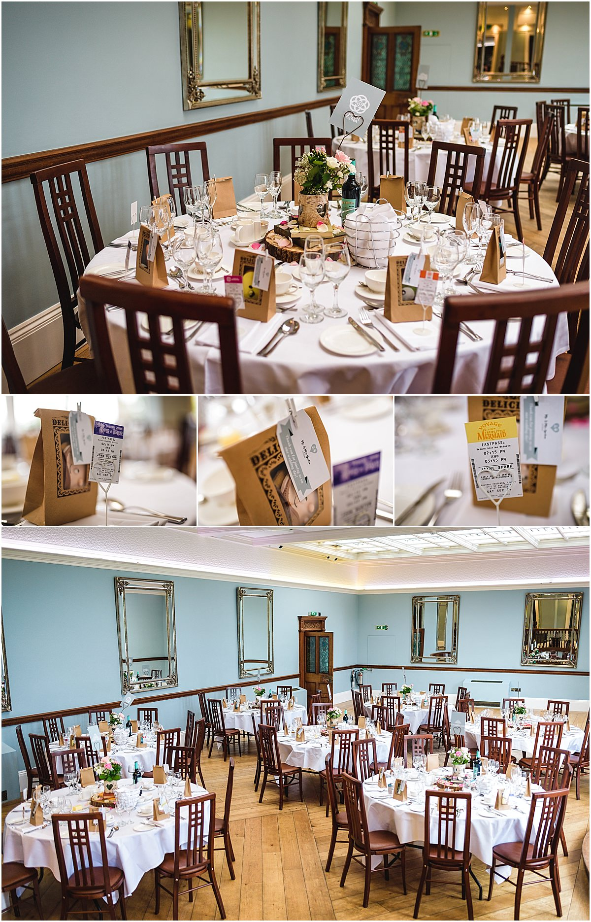 tables at pendrell hall