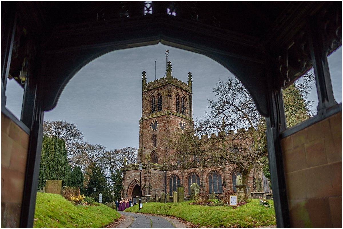 eccleshall church