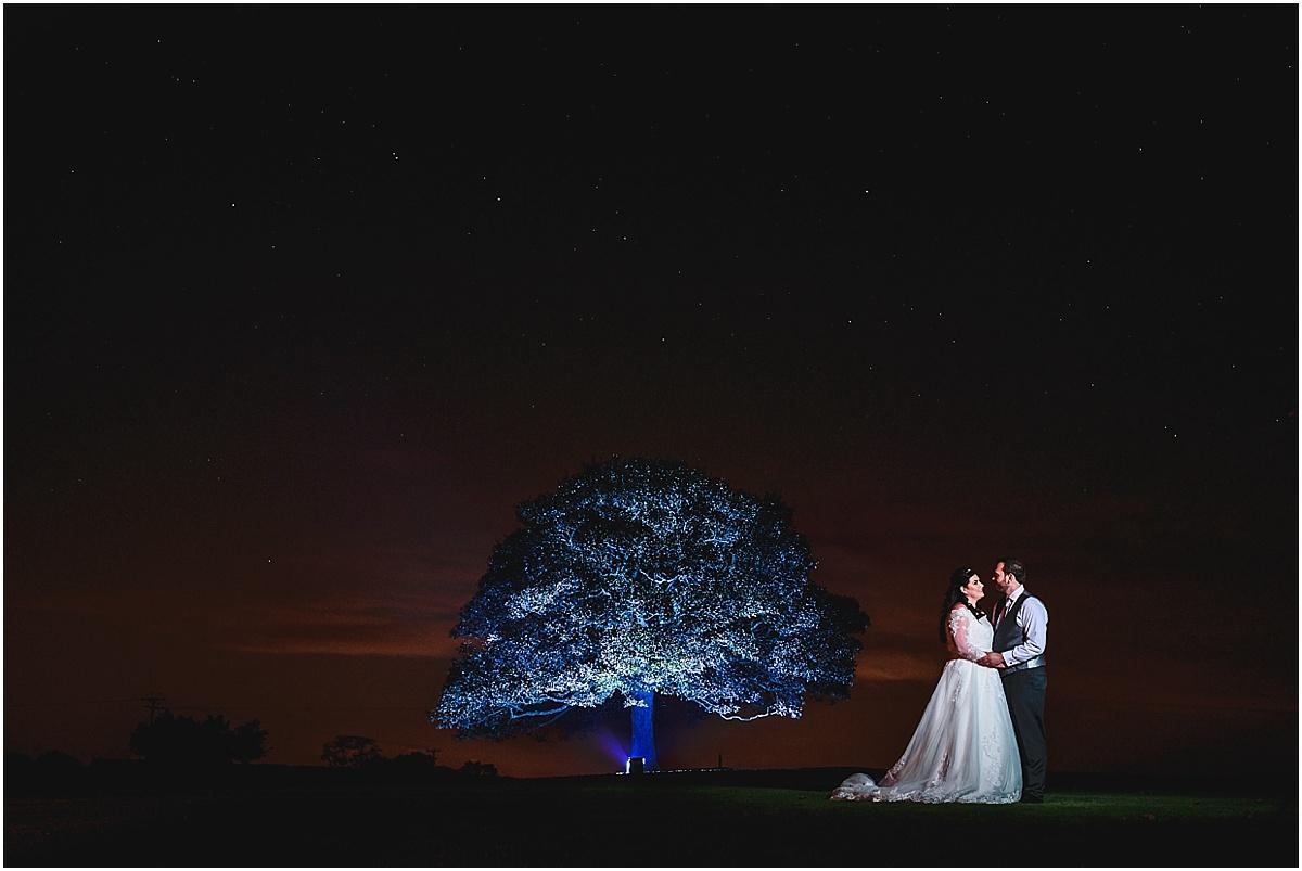 bonfire night wedding at heaton house farm
