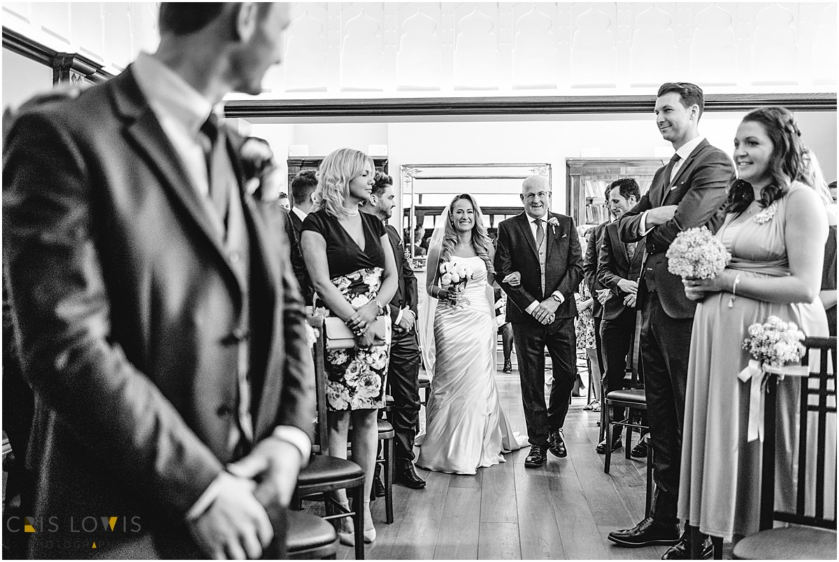wedding ceremony at pendrell hall