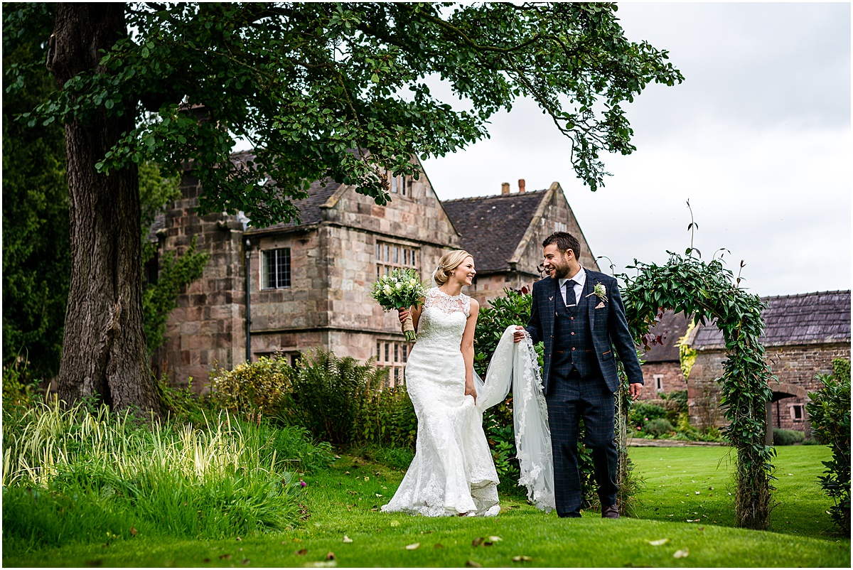 bride and groom portraits at the ashes