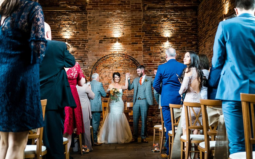 Halloween Themed wedding – Loren and James