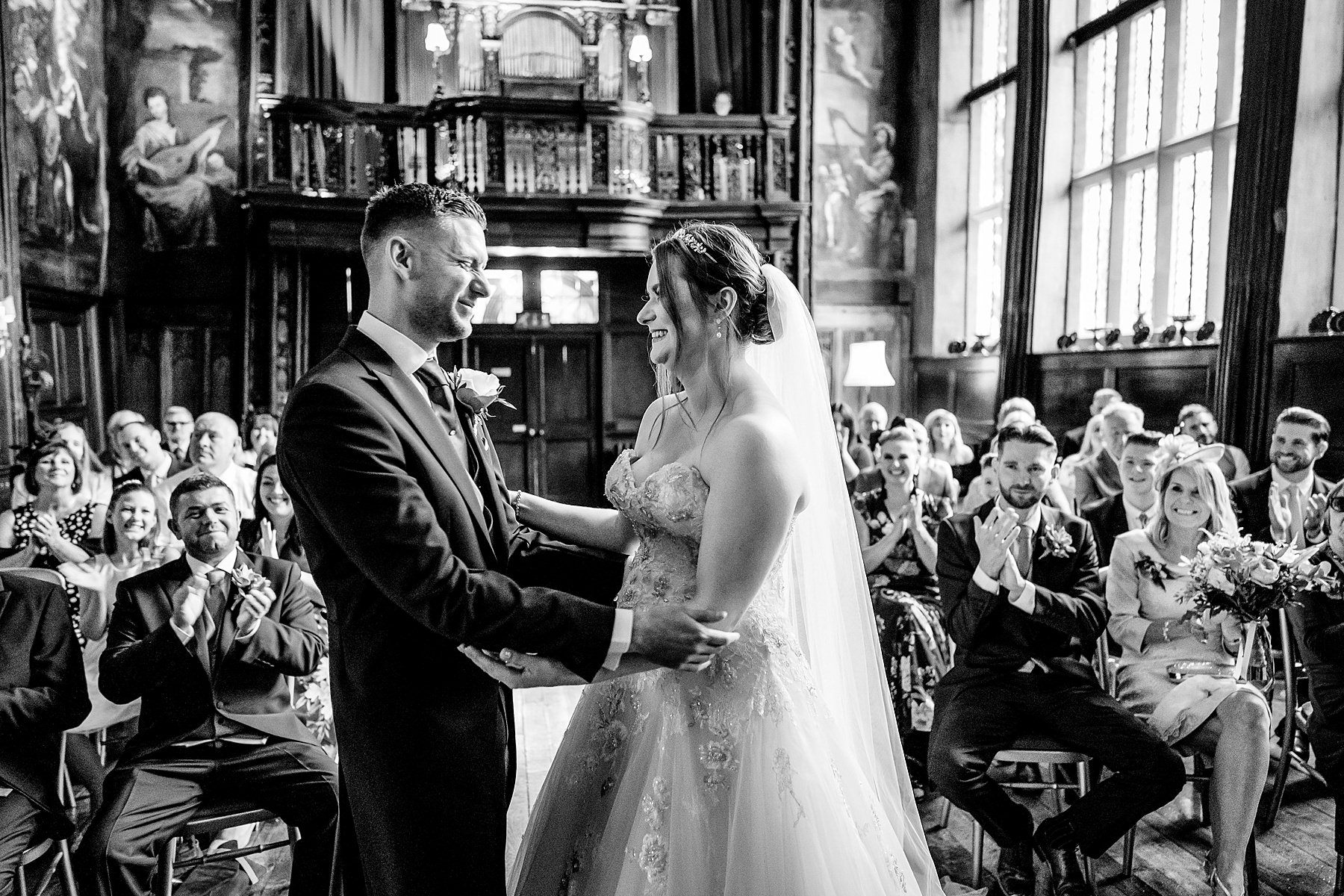 ceremony at adlington hall
