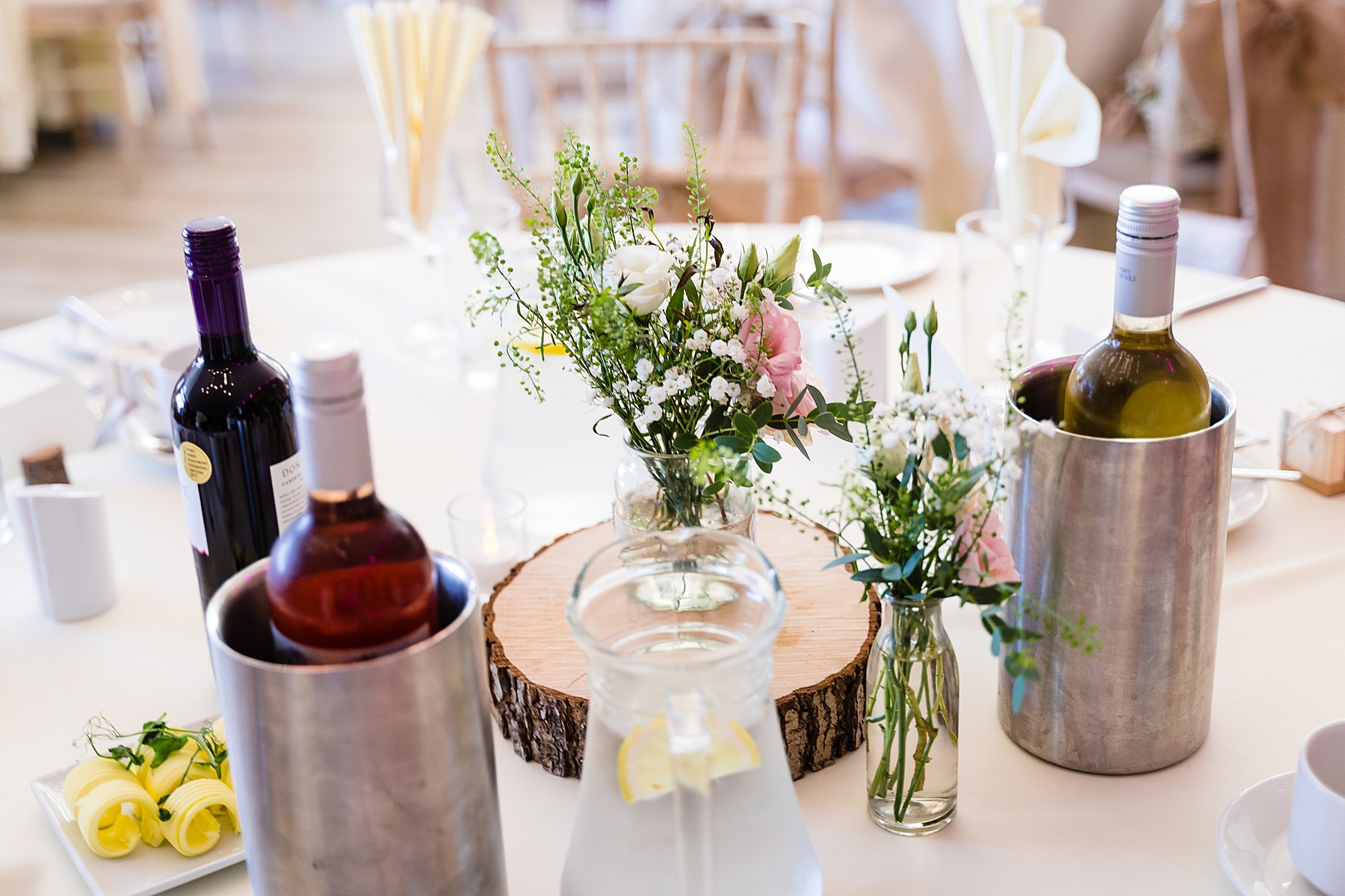wedding table details