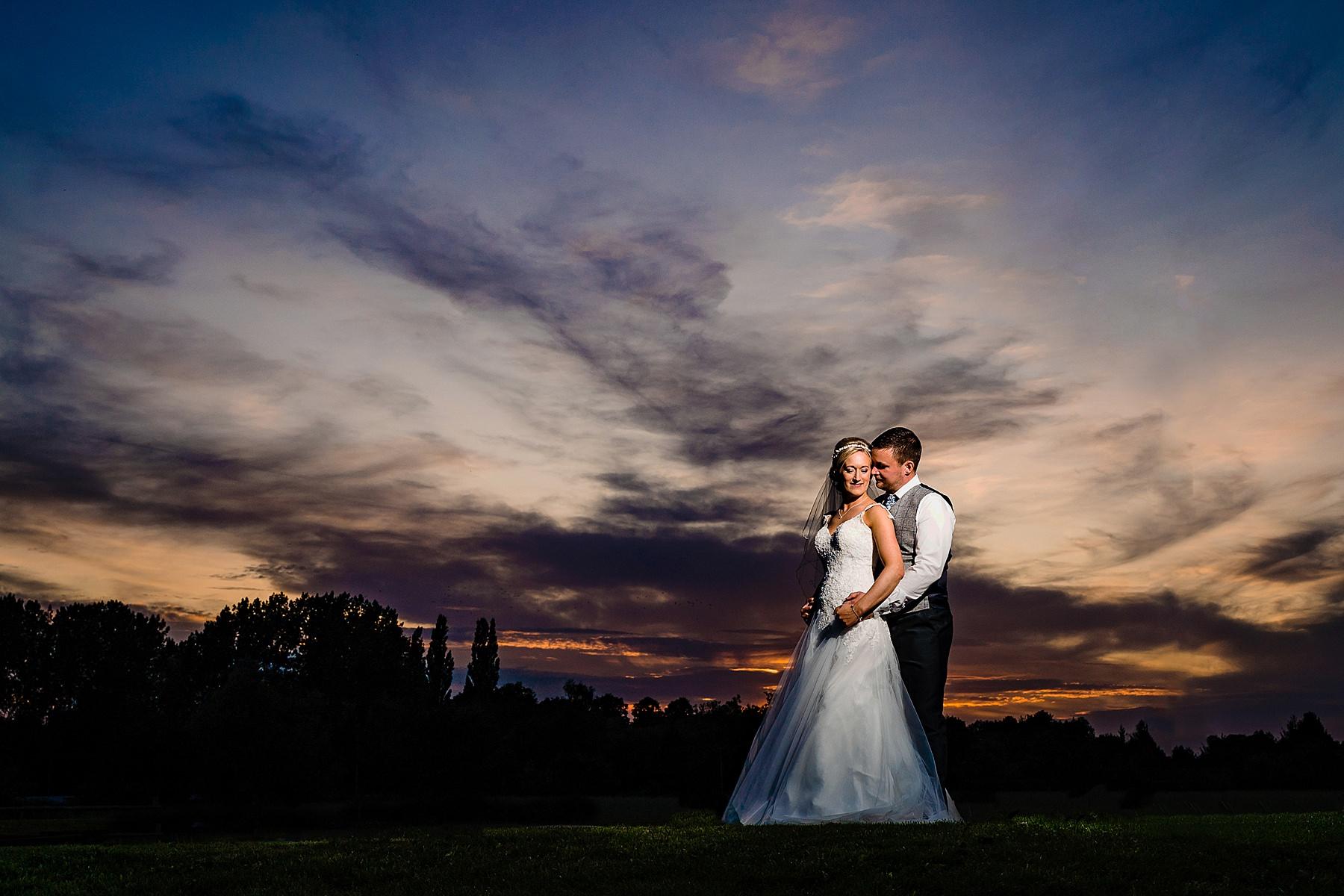 bride and groom photos at aston marina