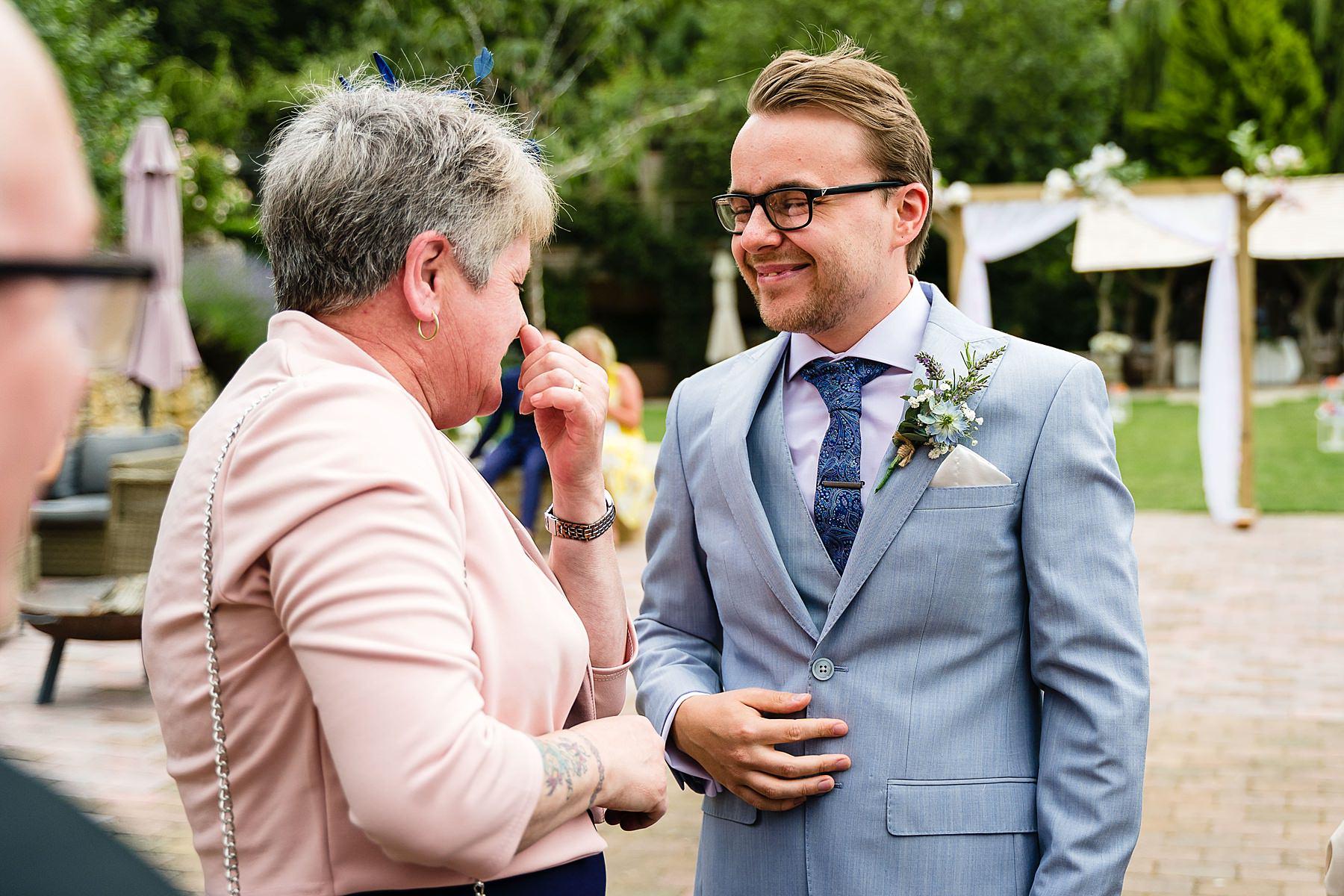 groom pre ceremony