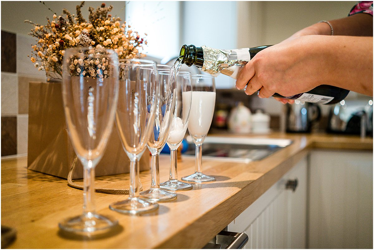 drinks being poured