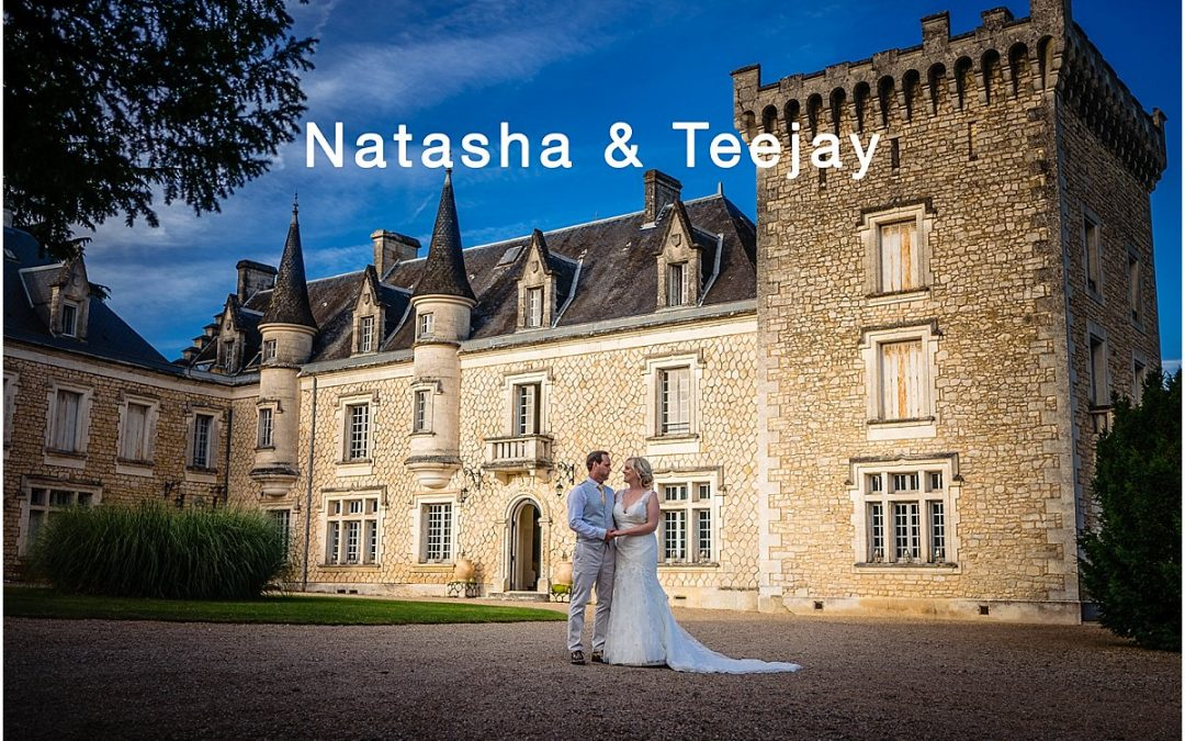 Chateau de la Couronne wedding photography – Natasha and TJ