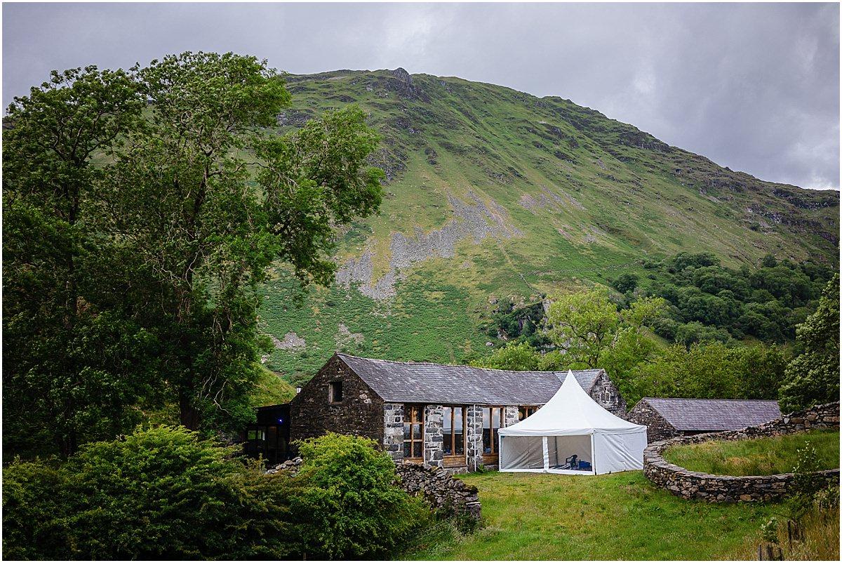llyn gwynant wedding barns