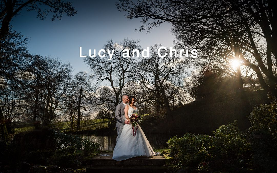 Lucy and Chris' wedding at The Ashes Endon
