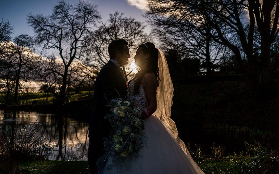 New year wedding at The Ashes Barns