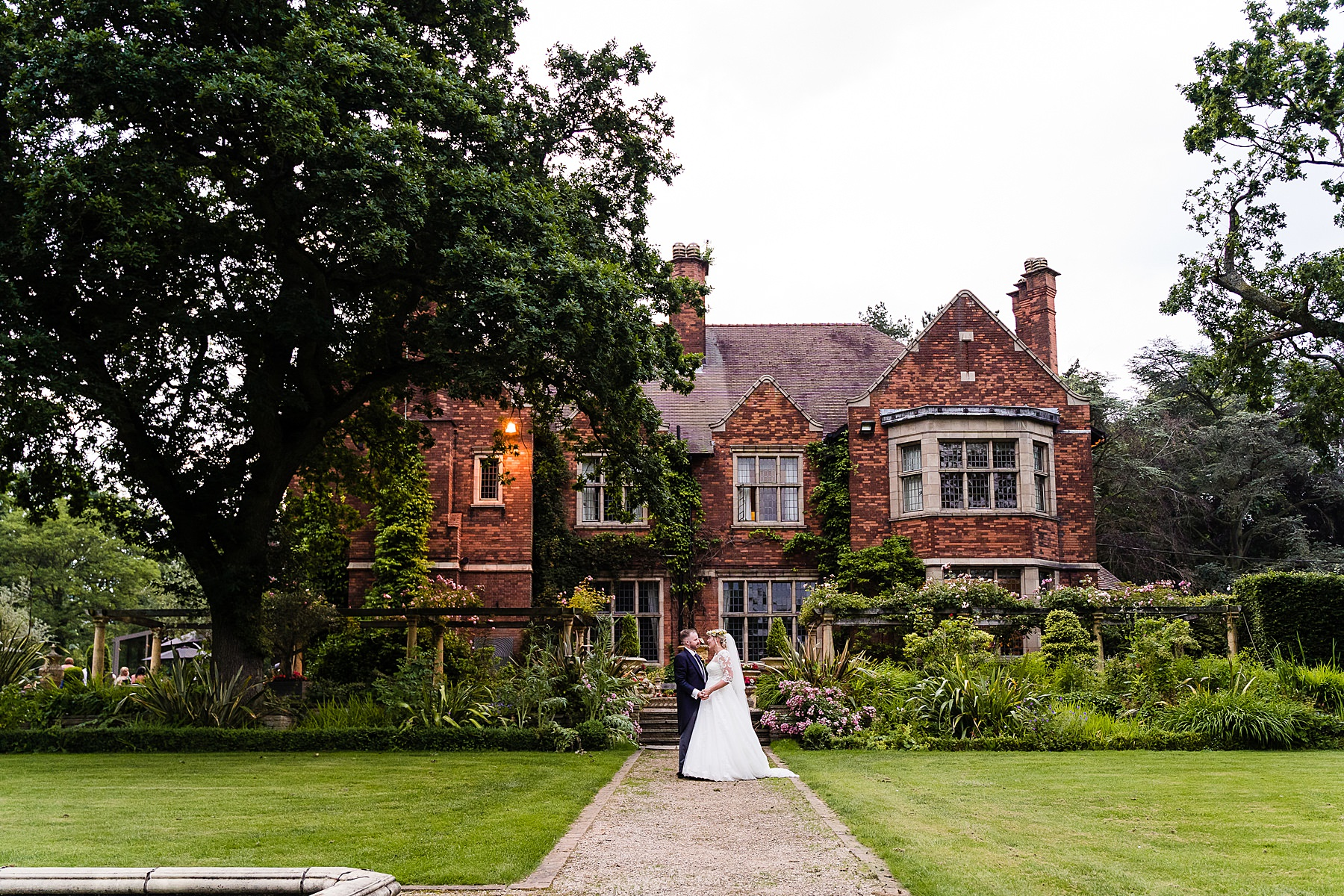 couple photos at Moxhull hall