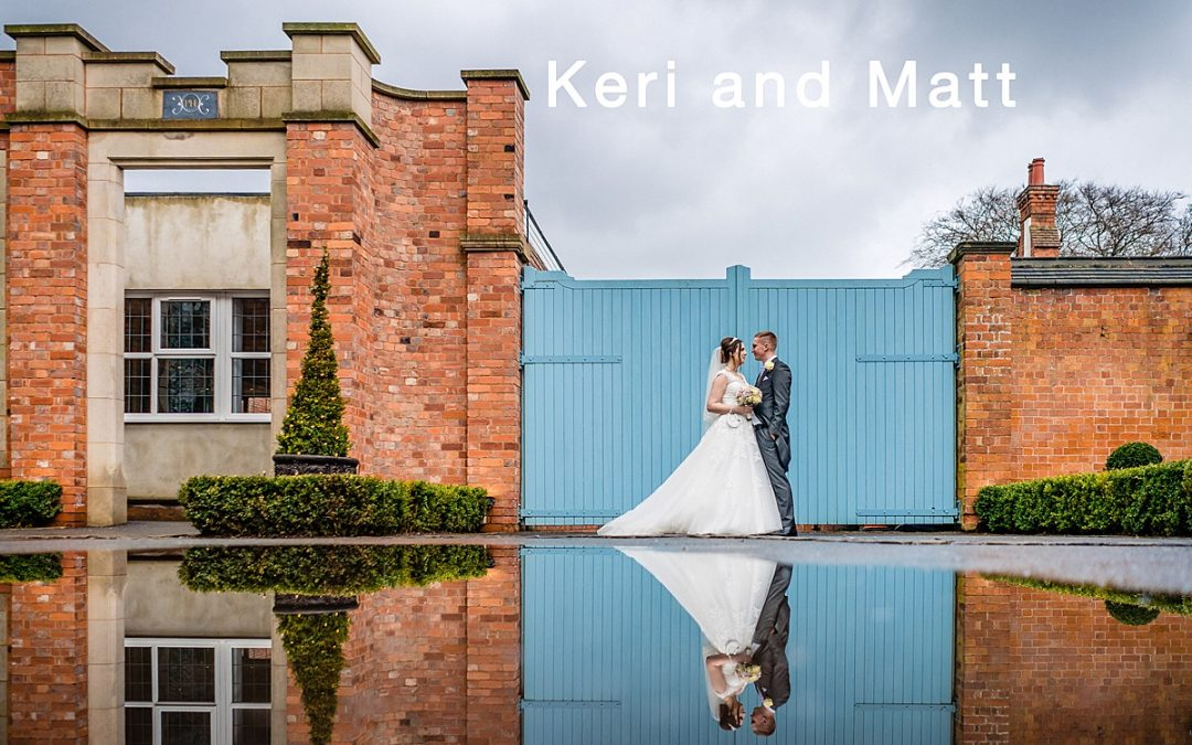 Keri and Matts wedding at Pendrell Hall