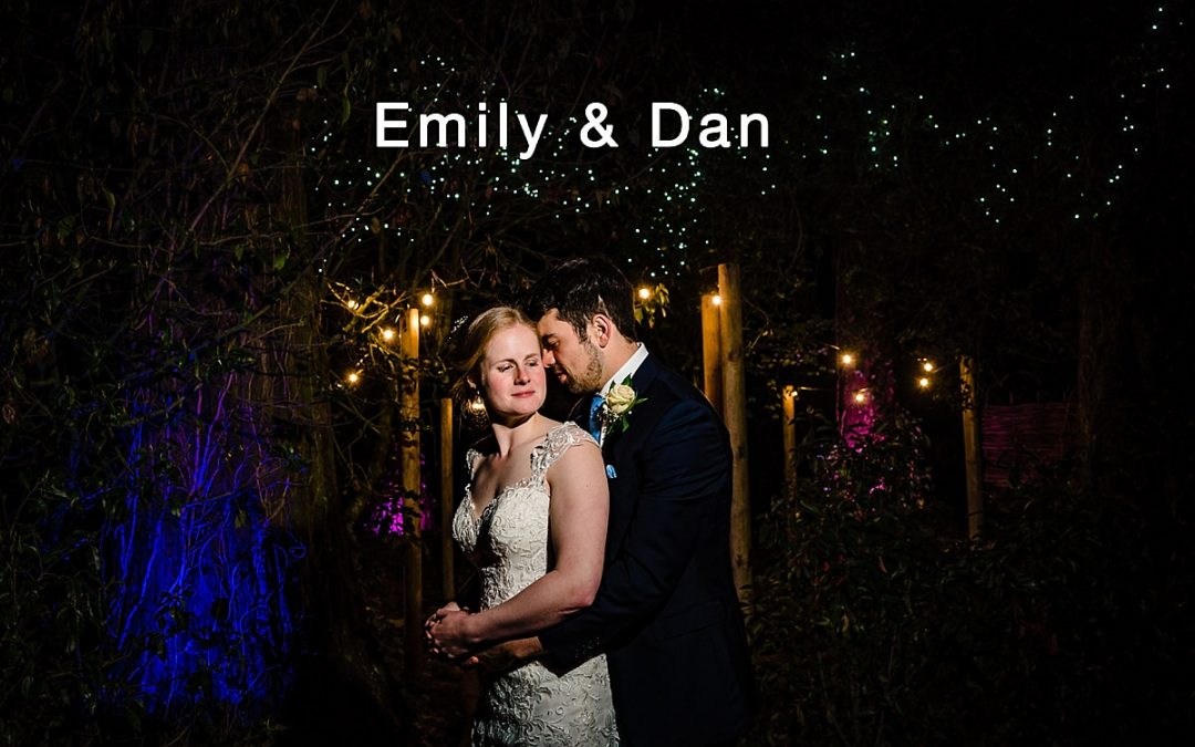 Emily and Dans wedding at Pendrell Hall