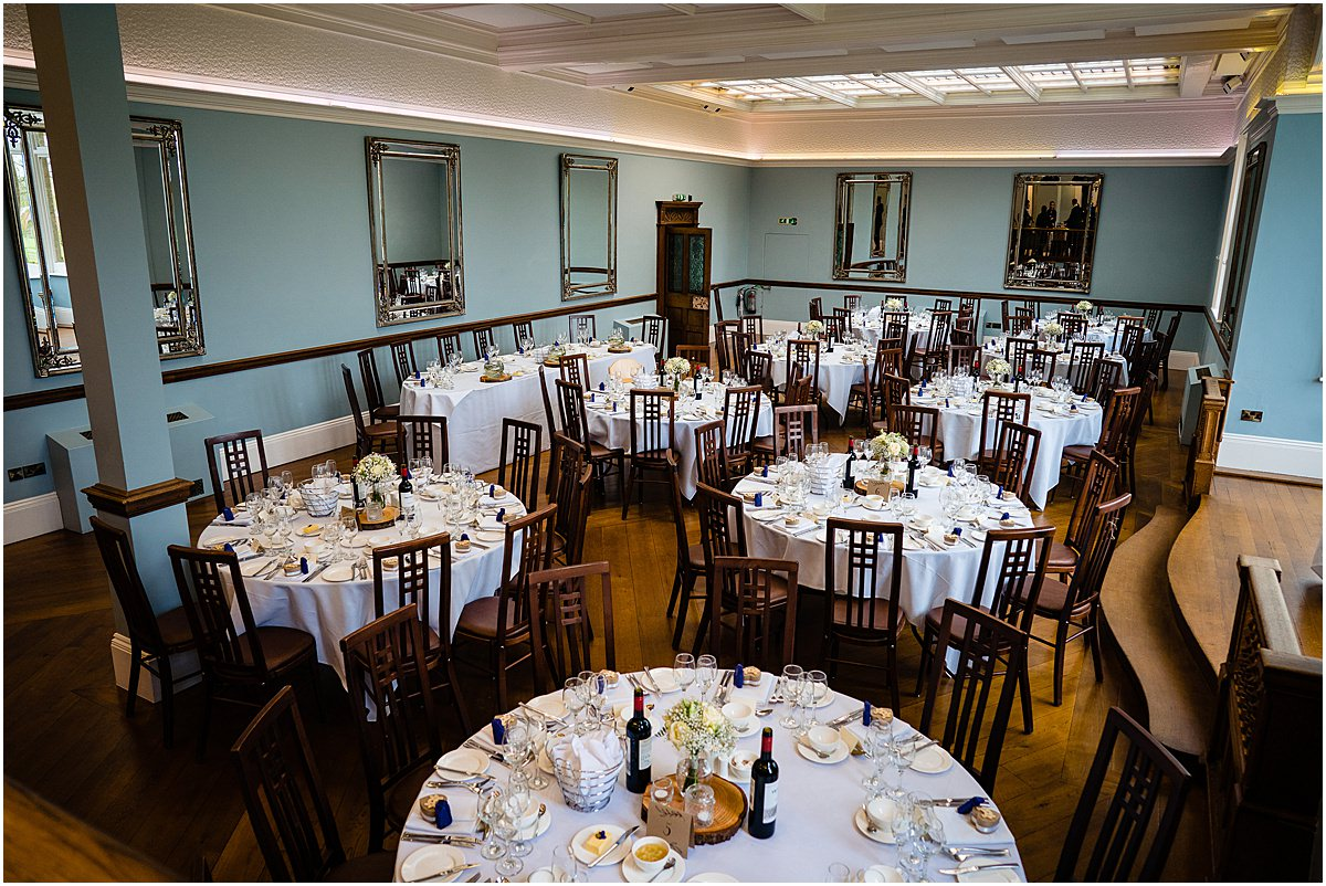 pendrell hall dining room