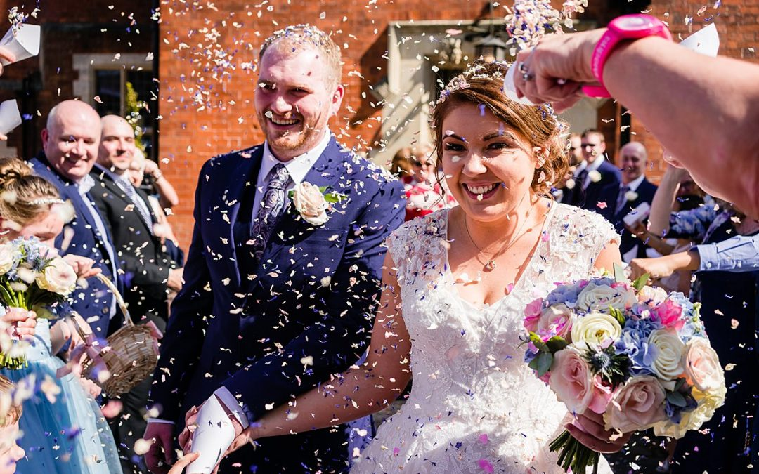 Early summer wedding at Pendrell Hall