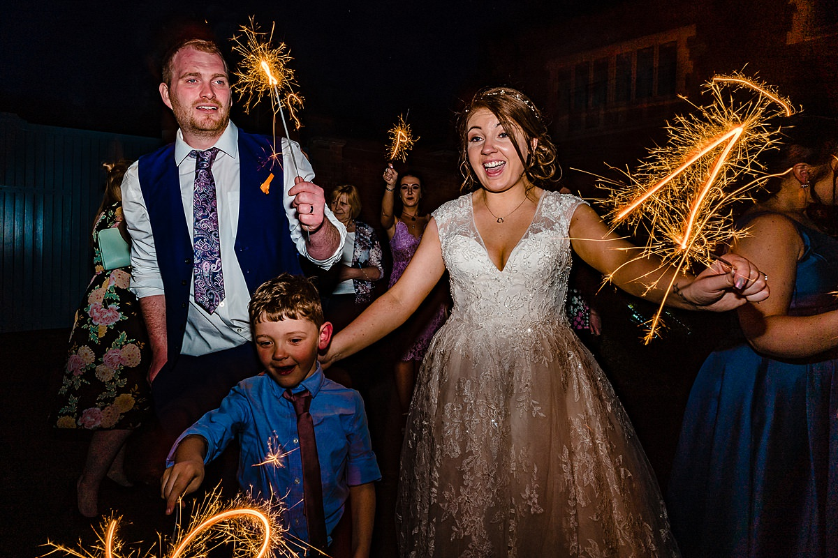 sparklers at pendrell hall