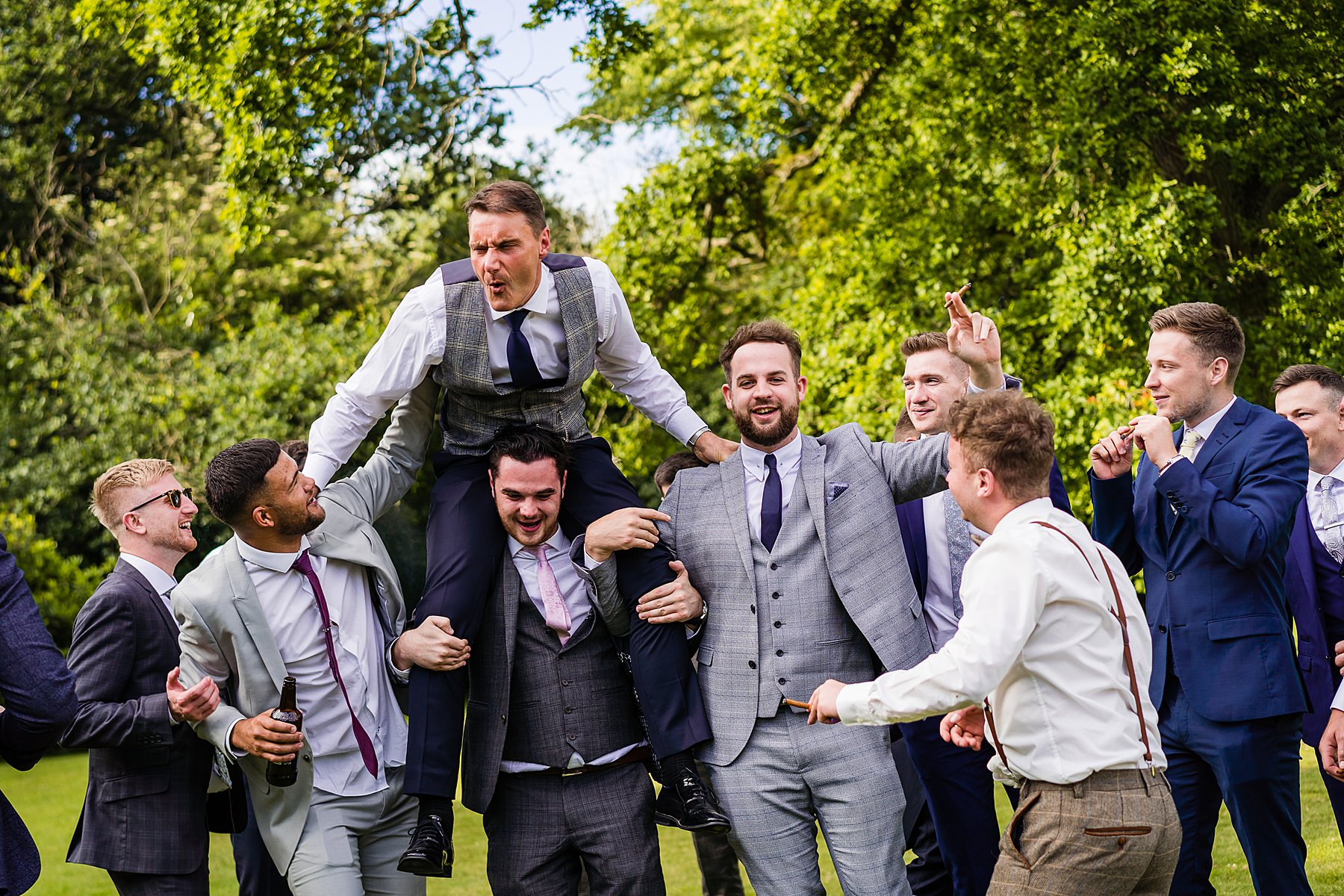 documentary wedding photography at pendrell hall