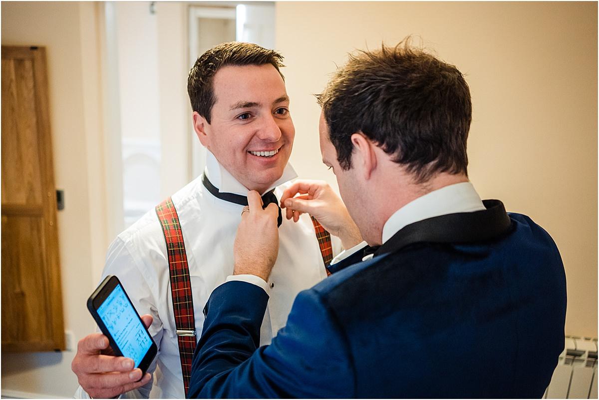 groom prep\