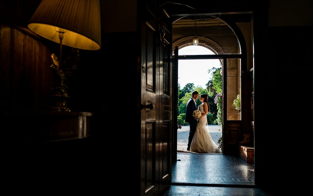 Rookery Hall wedding photography – Amy and Dave