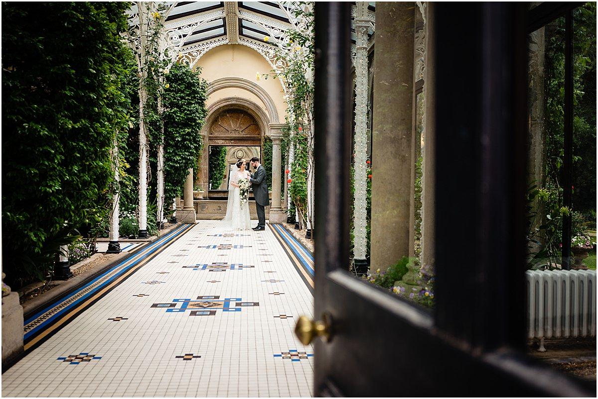 sandon hall wedding