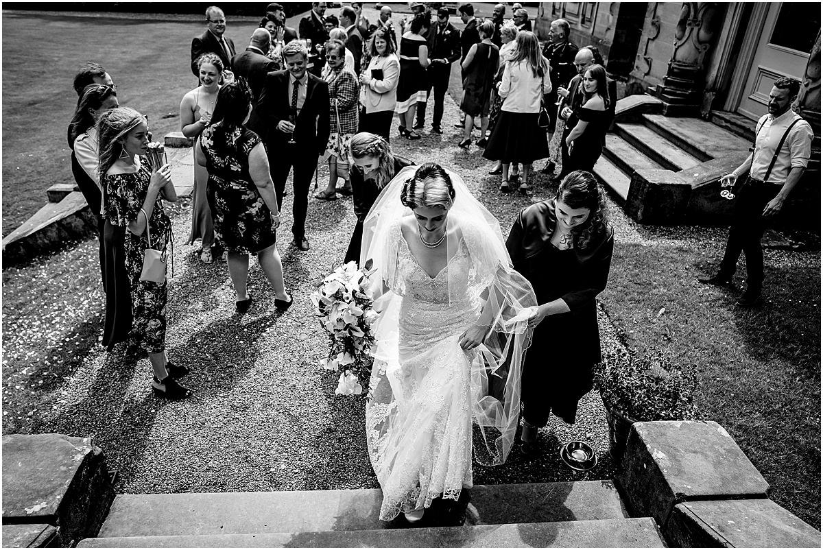 natural wedding photography at sandon hall