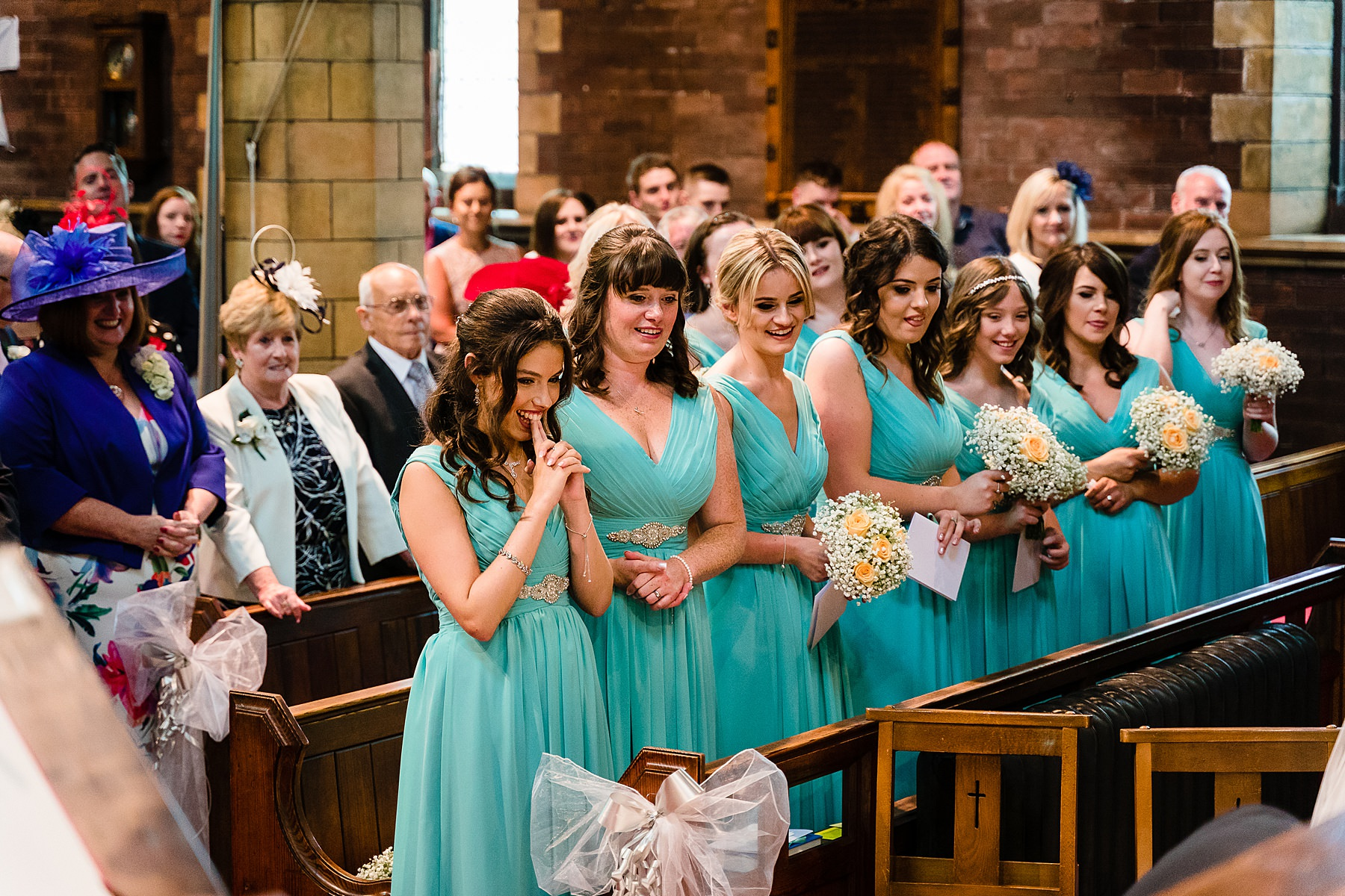 wedding ceremony at St albans stockport