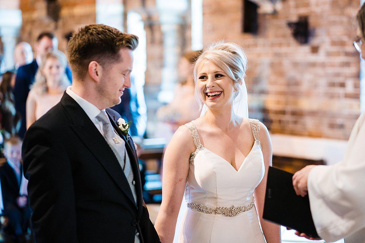 wedding ceremony at st marks telford