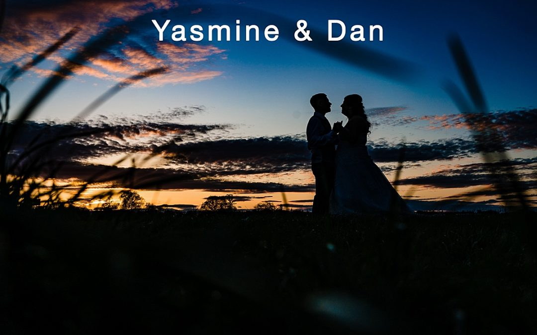 Yasmine and Dan's wedding at The Moat House