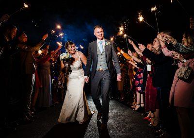 Fun wedding at The Mill Barns