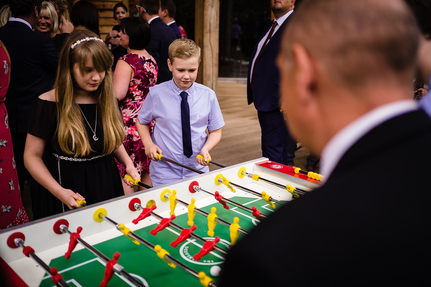 guests playing games