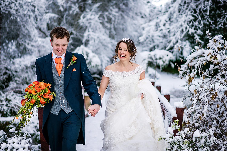 Mill barns christmas wedding