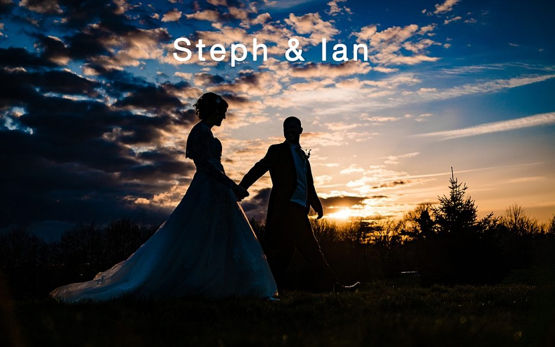 Spring wedding at The Moat House – Steph and Ian