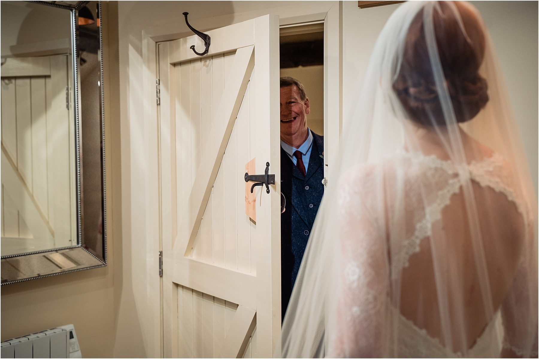 dad sees bride