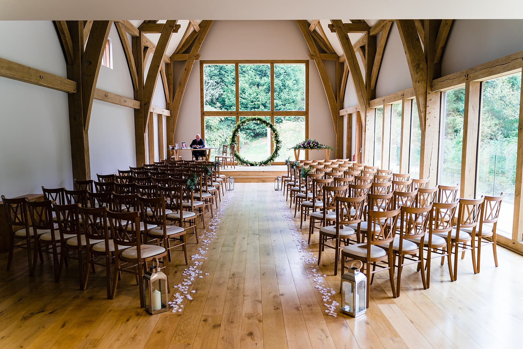 the mill barns ceremony room