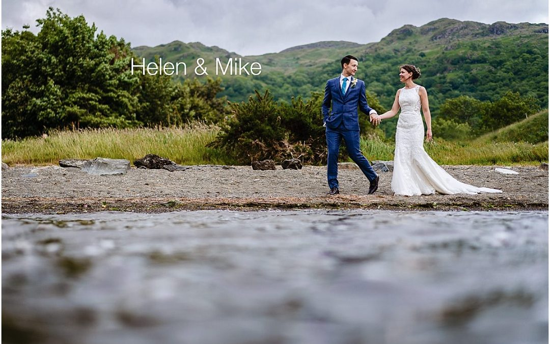 Llyn Gwynant Wedding Snowdon – Helen and Mike