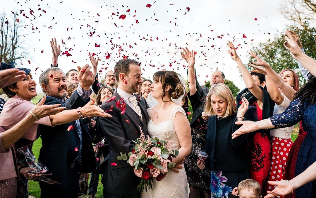 Rowton Castle Winter wedding