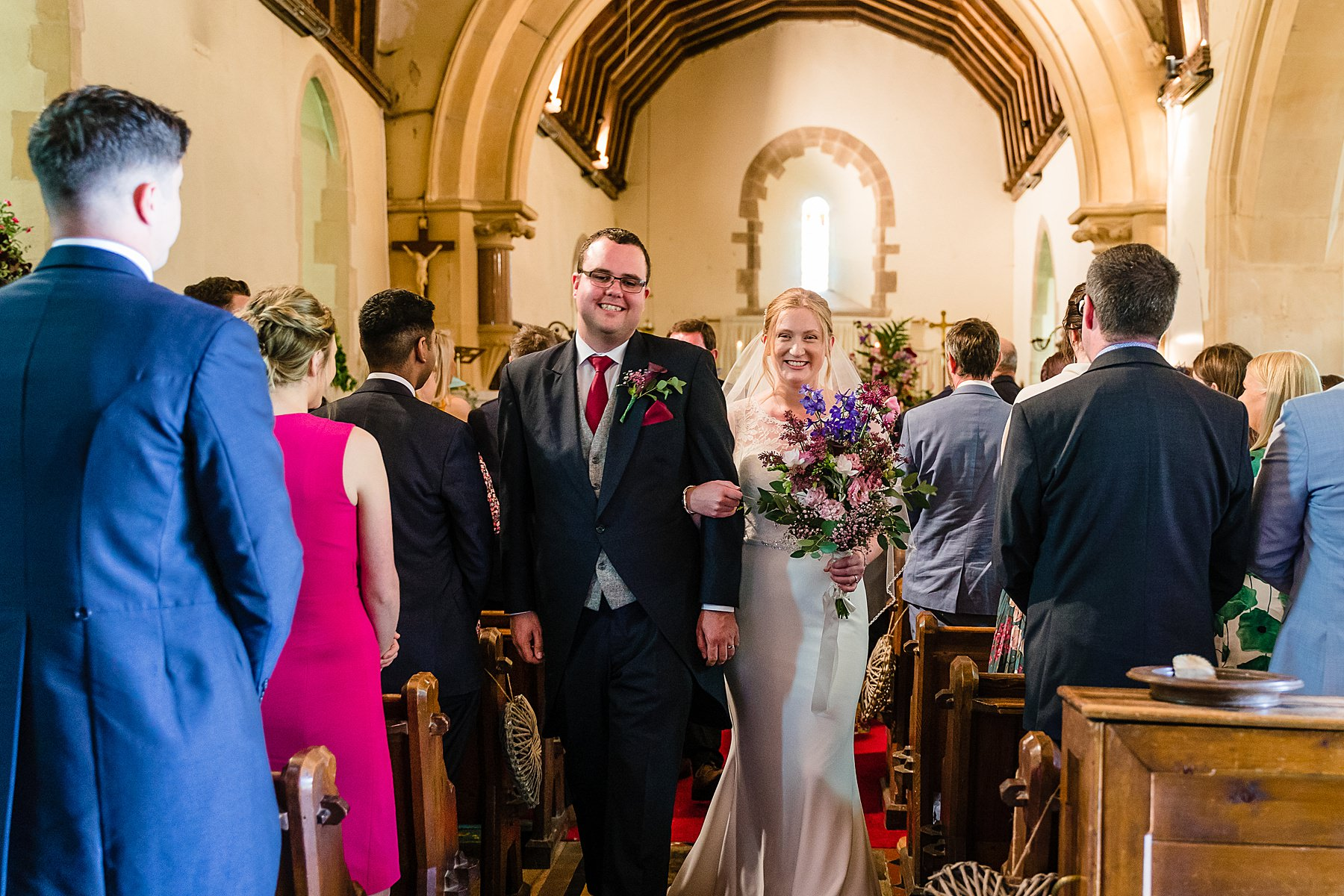 wedding ceremony at st james the great