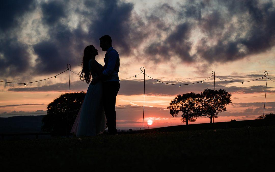Natalie and Ricardo's wedding at Heaton House Farm