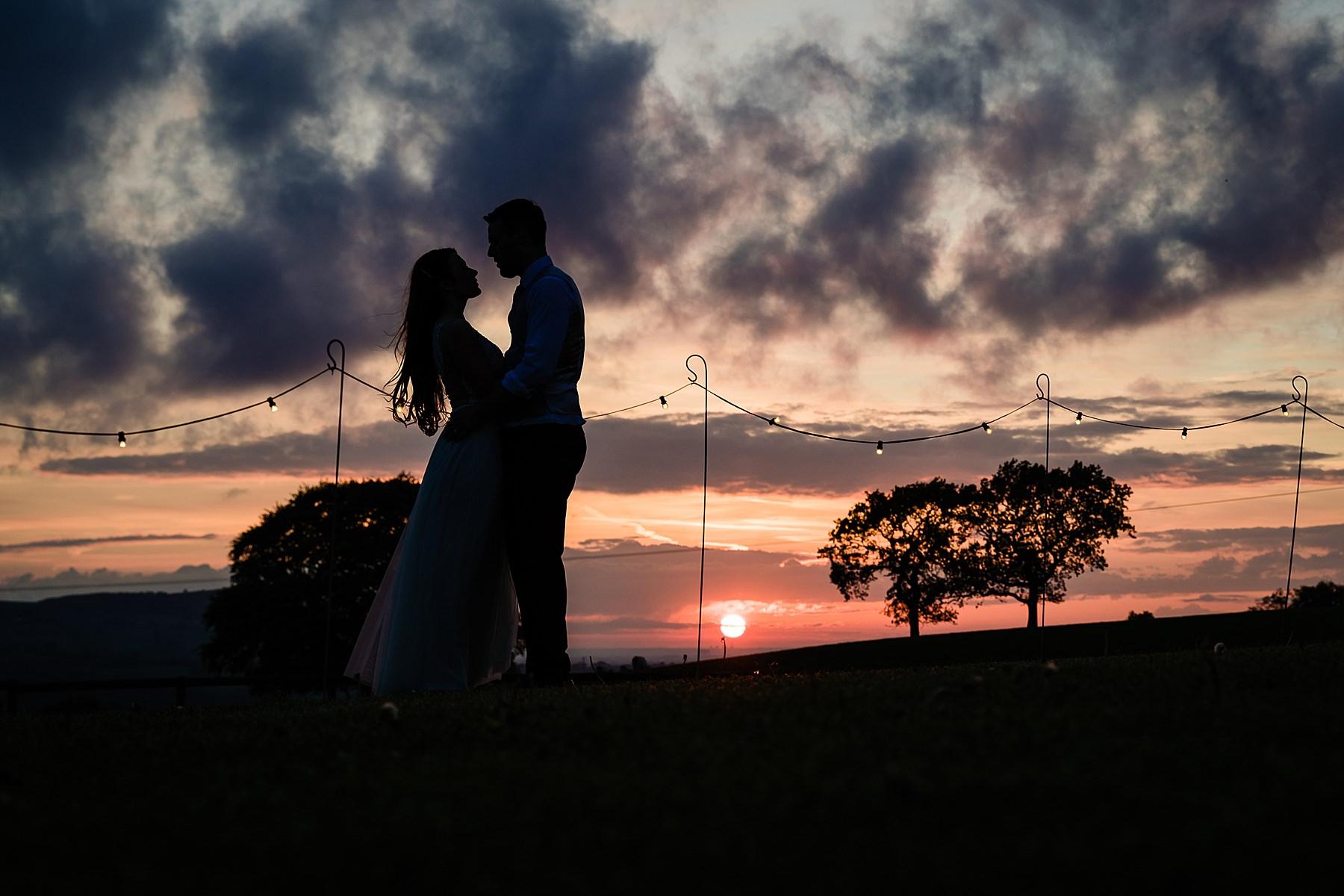 sunset photo at heaton house farm