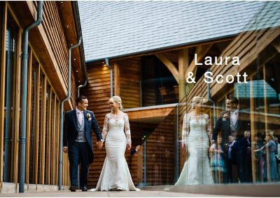 Wedding photography at The Mill Barns – Laura and Scott