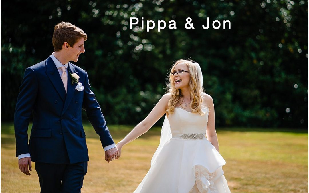 Summer wedding at Pendrell Hall – Pippa and Jon