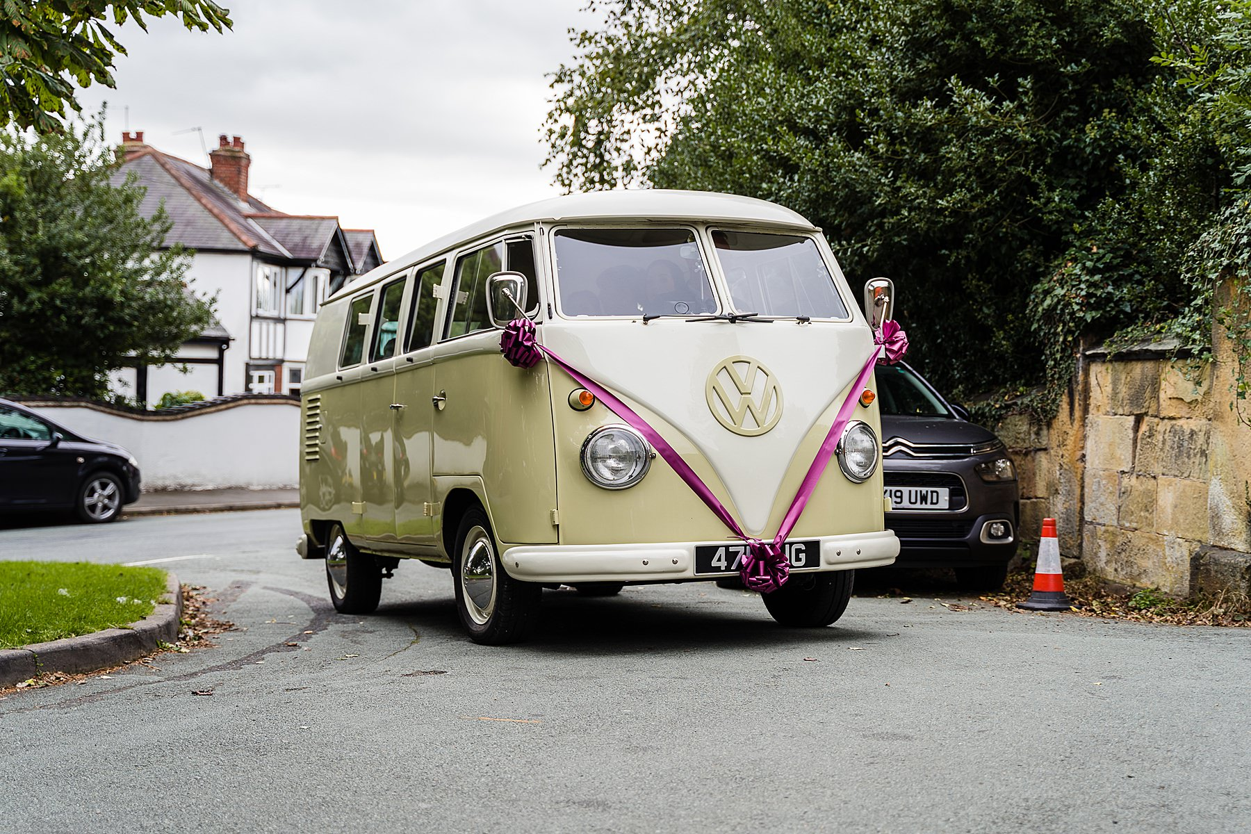 campervan bridal car