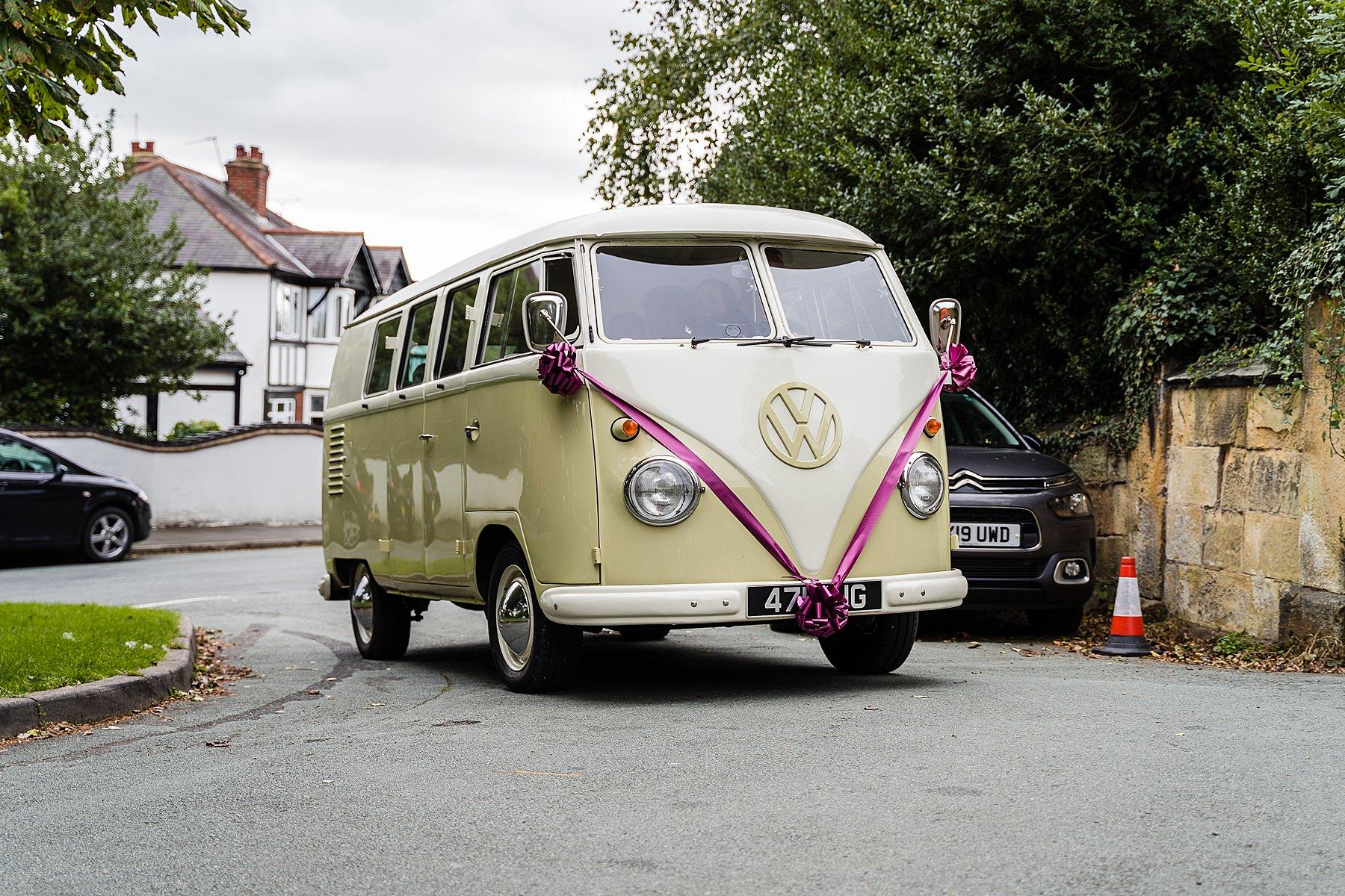 campervan bridal car