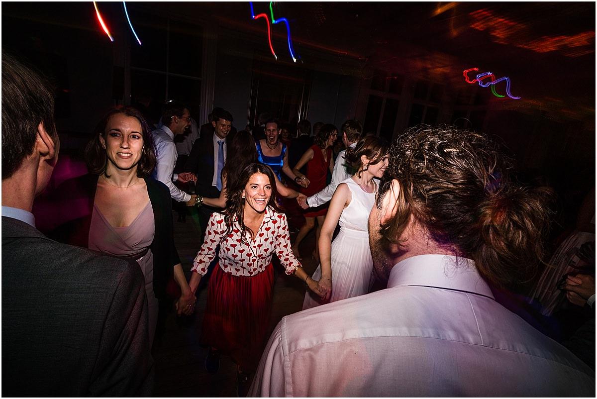 evening dancing